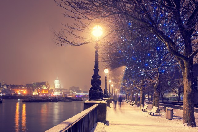 Christmas In London.When Was The Last White Christmas In The Uk Metro News