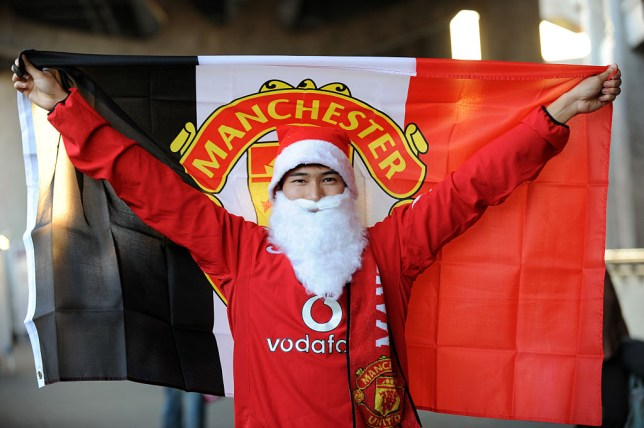 2cd56942782 Man United fans will hope to be celebrating at Christmas (Picture   AMA Corbis Getty)