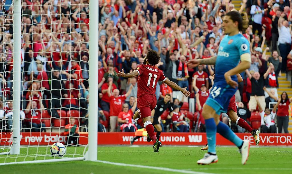 Lee Dixon explains how Arsene Wenger can prevent Liverpool star Mohamed Salah running riot against Arsenal