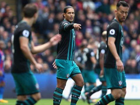 Virgil van Dijk axed for second game running amid Manchester City and Liverpool transfer links