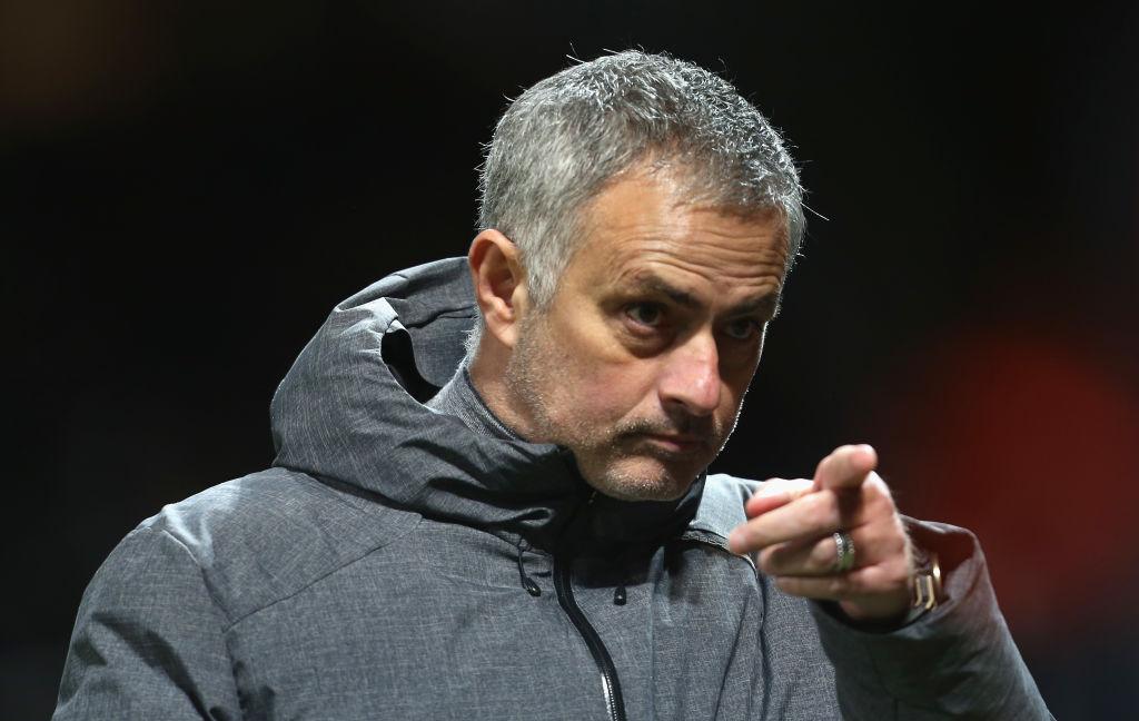 Jose Mourinho points