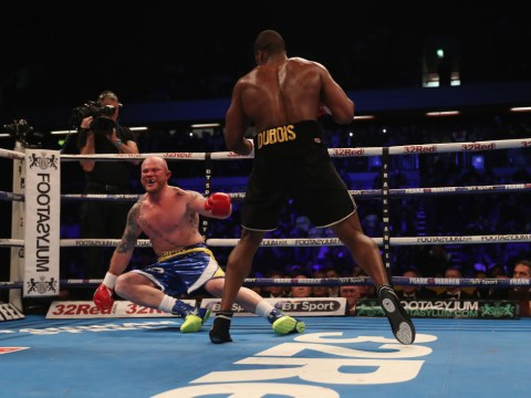 Daniel Dubois matches Anthony Joshua with second-round stoppage against Dorian Darch