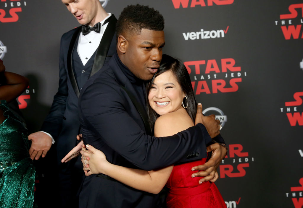 Star Wars' John Boyega and Kelly Marie Tran's The Last Jedi 'chemistry' audition is the cutest thing ever