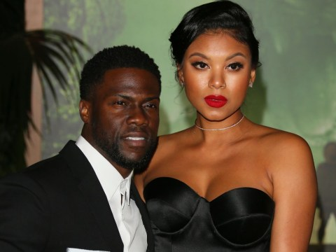 Who is Kevin Hart's wife Eniko Parrish and how long have they been together?