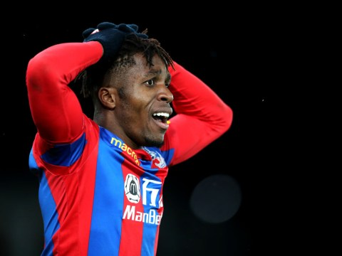 Wilfried Zaha in awe of Manchester United starlet Timothy Fosu-Mensah's pace