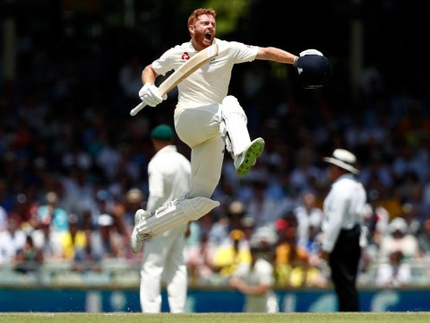 Ashes 2017: Jonny Bairstow's cheeky headbutt celebration after scoring century against Australia