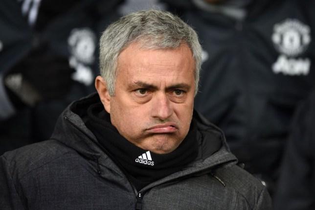 Jose Mourinho makes a face