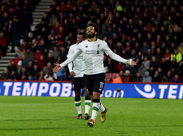 Mohamed Salah emulates Liverpool legend with 20th goal of the season before  Xmas cd1f9d43d