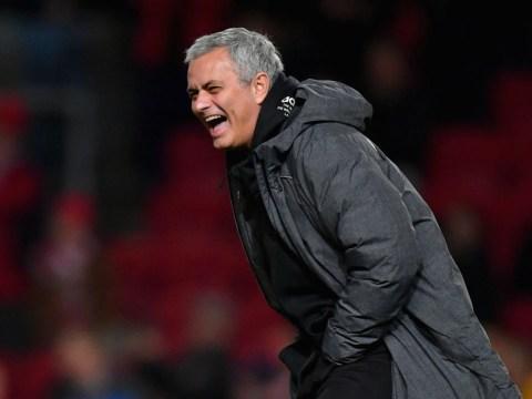 Jose Mourinho says Bristol City got 'lucky' as Manchester United crash out