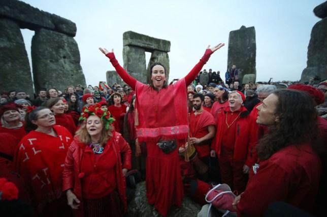 Stonehenge gatherers