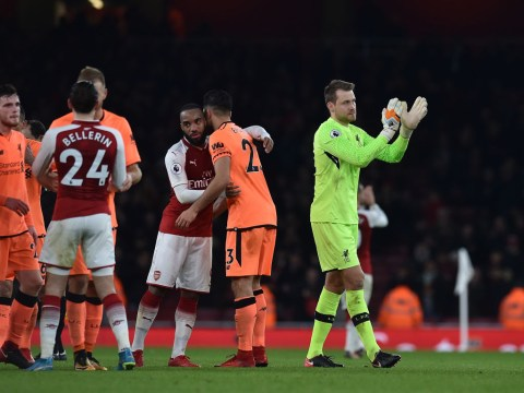 Jurgen Klopp speaks out on shocking Simon Mignolet mistake against Arsenal
