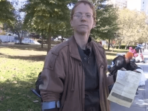 Woman arrested for handing out food to homeless people