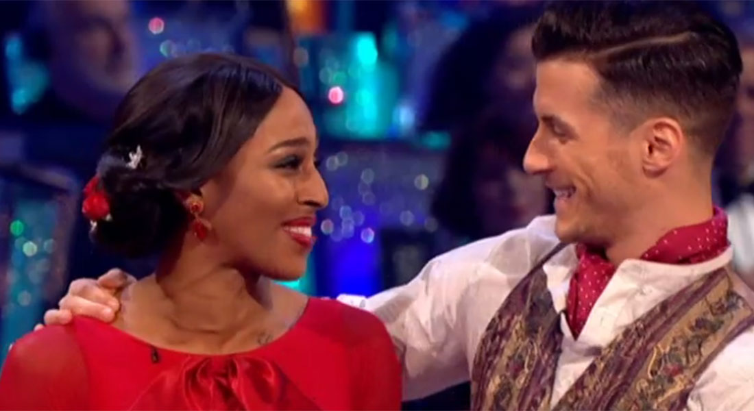 Alexandra Burke kicks off Strictly Come Dancing final with another perfect 40