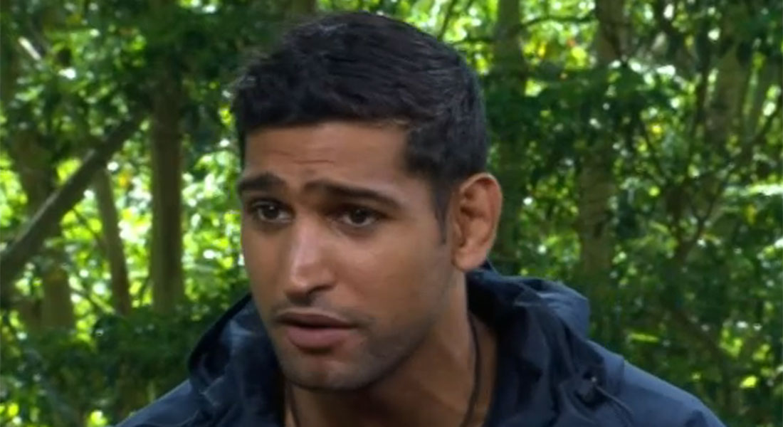 Amir Khan is the seventh person to leave the I'm A Celebrity jungle
