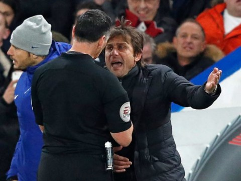 Antonio Conte slapped with £8,000 fine for misconduct in Chelsea's victory over Swansea