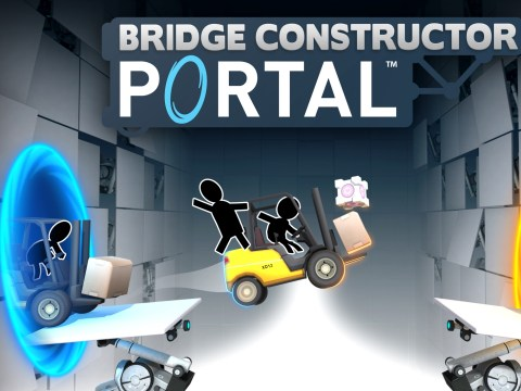 Bridge Constructor Portal review – the cantilever is a lie