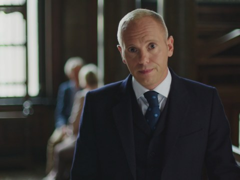 Judge Rinder admits that he's been finding it hard watching Strictly this year