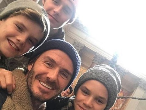 David Beckham's family won't move with him to the US for MLS Miami move