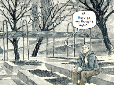 'I could not cope in the world,' Brent Williams talks about depicting his depression and anxiety in a graphic novel