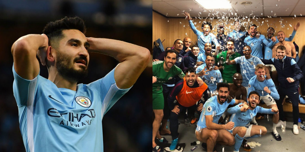 Ilkay Gundogan defends Manchester City celebrations that sparked brawl with Manchester United stars