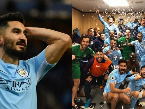 Ilkay Gundogan defends Manchester City celebrations that sparked brawl with Manchester United stars