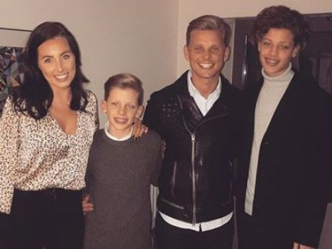 Jeff Brazier's fiancée Kate Dwyer posts first family snap as she calls his sons 'the best'