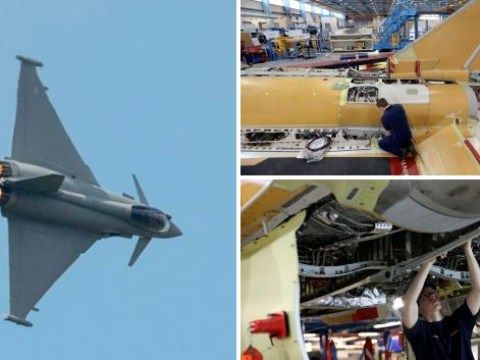 Britain sells Qatar £6,000,000,000 worth of Typhoon fighter jets and missiles