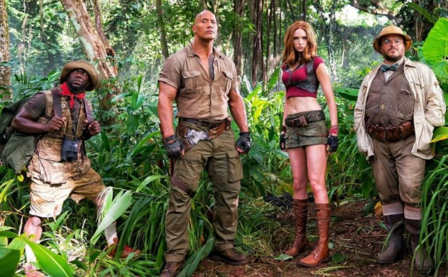 Jumanji 2 Welcome to the Jungle