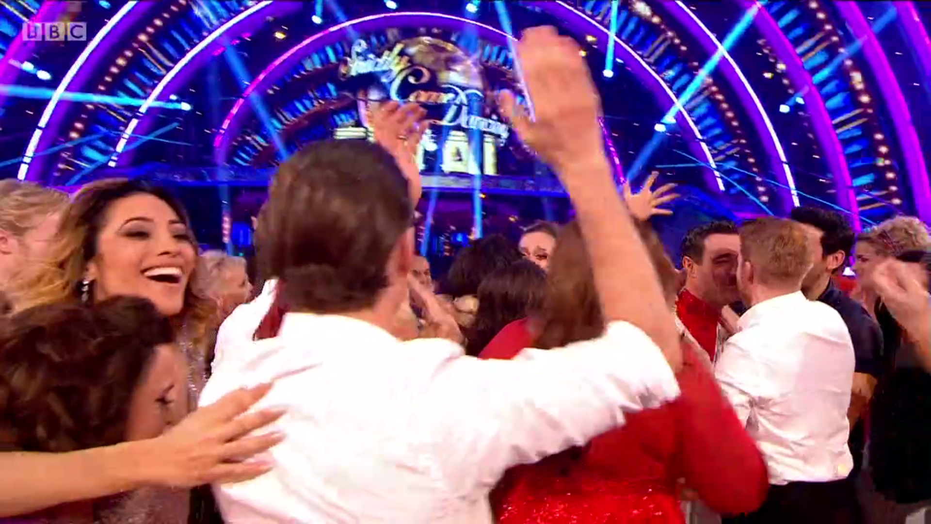 Did you see Strictly Come Dancing's Karen Clifton and Kevin Clifton show of affection during the final?