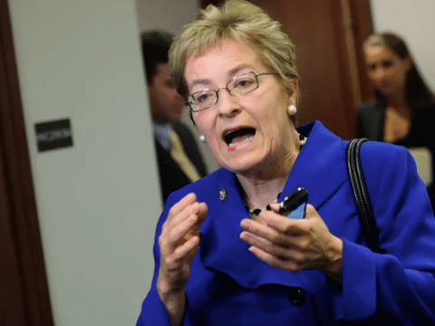 Congresswoman says colleagues invite sexual harassment with 'deep cleavage'
