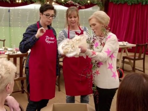 'Can you undress me?' Mary Berry, Mel and Sue are back with more innuendos for their Big Christmas Thank You