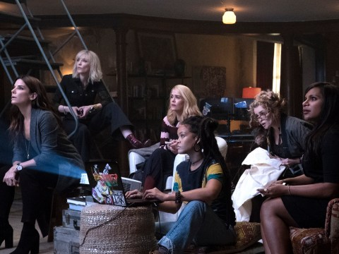 The Ocean's 8 trailer has officially landed and it's packed with badass women