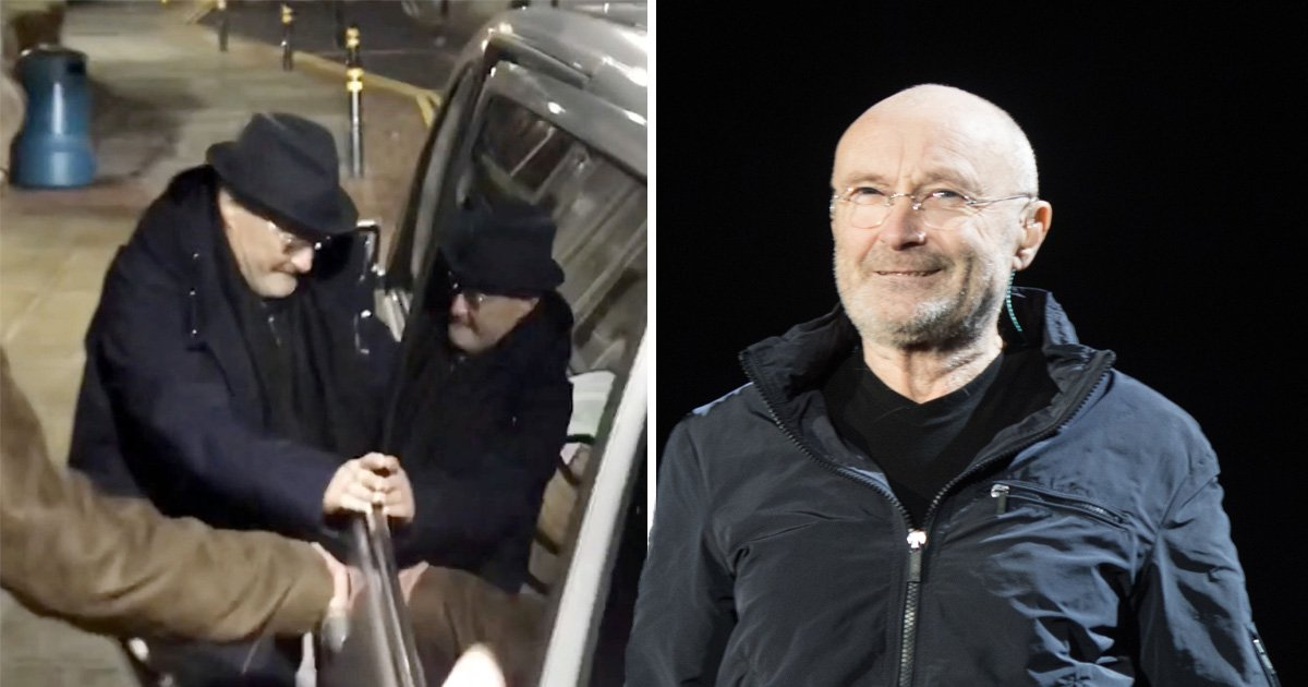 Phil Collins admitted to hospital hours before UK show as driver admits he 'really isn't well'