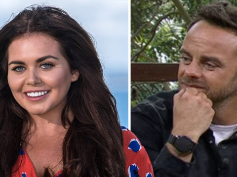 Scarlett Moffatt explains why Ant McPartlin covers his watch on I'm A Celebrity
