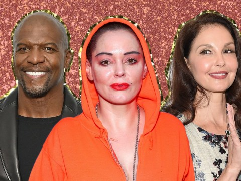Ashley Judd, Rose McGowan and Terry Crews honoured by Time's Person Of The Year