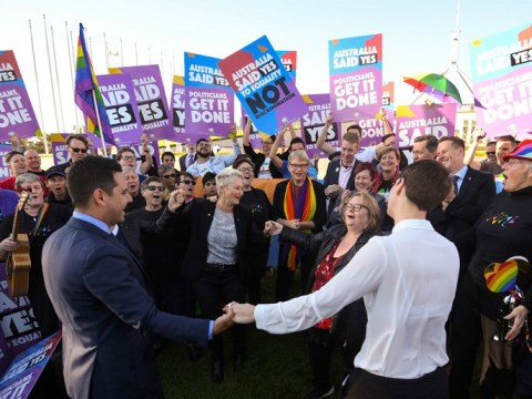 Same sex marriage is finally legal in Australia
