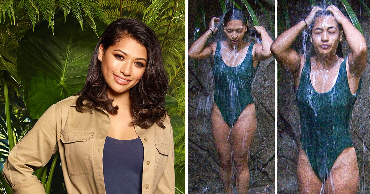 Vanessa White's jungle showers bag her six-figure offer to pose for Playboy