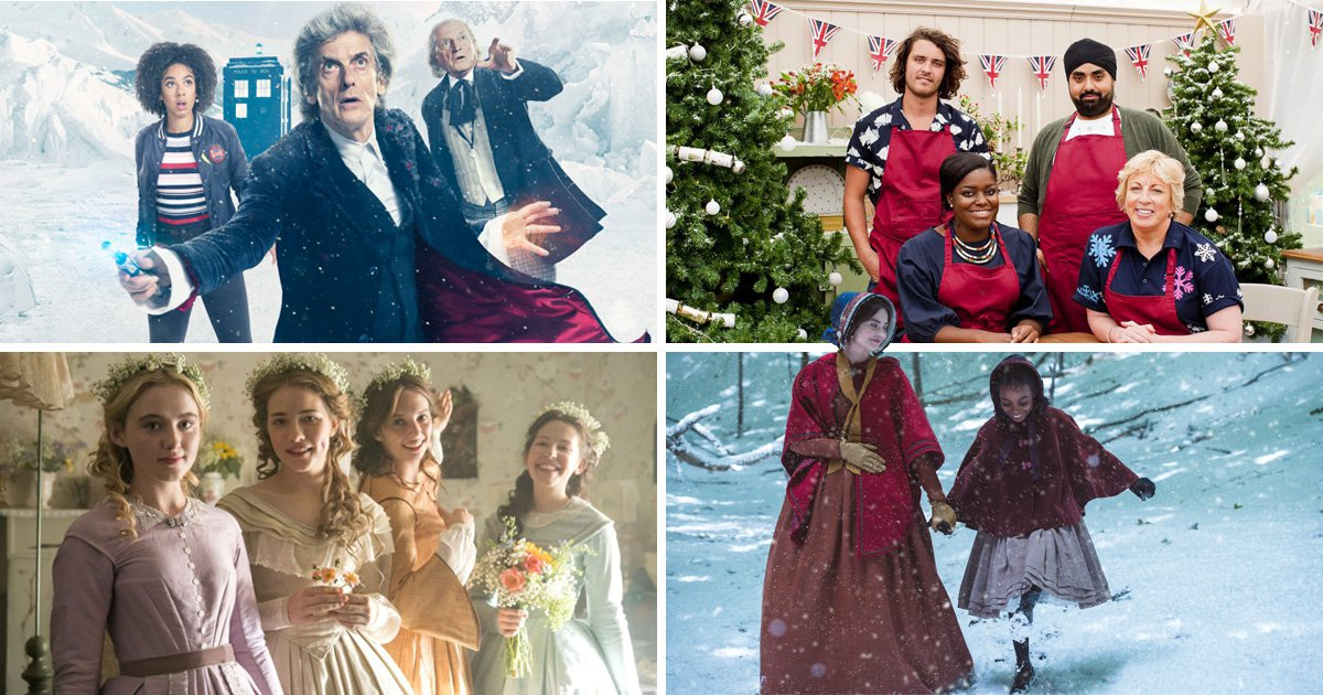 From Doctor Who to The Great British Bake Off: 32 TV shows you'll definitely want to watch this Christmas 2017