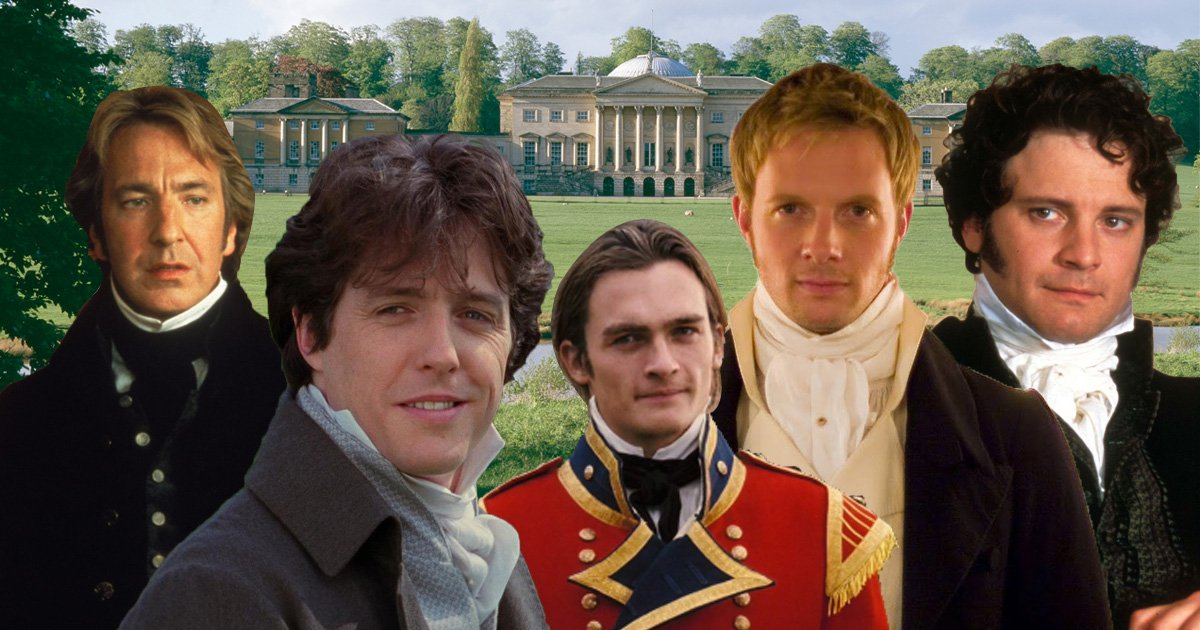 Happy birthday Jane Austen: her 12 famous male heroes ranked