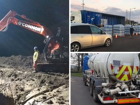 Water finally restored for 10,000 homes in Tewkesbury after pipe burst