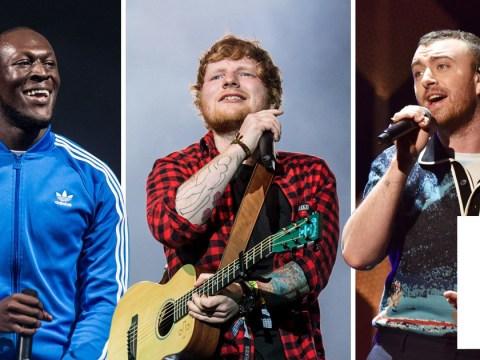 Ed Sheeran, Stormzy and Sam Smith are set to perform at 2018 Brits Awards
