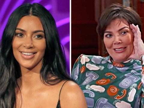 Kim Kardashian tells Kris Jenner 'not to be ashamed' of sex tape in Keeping Up With The Kardashians