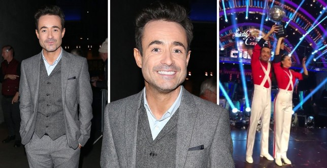 Joe McFadden first pics since win