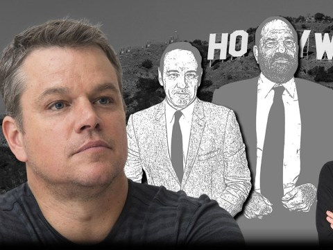 Sorry, Matt Damon, you don't get a medal for not sexually harassing women
