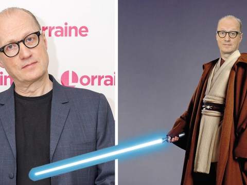 When was Ade Edmondson in Star Wars, who did he play and did you spot him?
