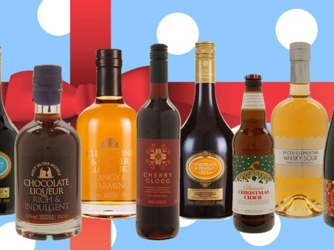 We tried loads of Marks and Spencer's fancy festive alcohol because 'tis the season