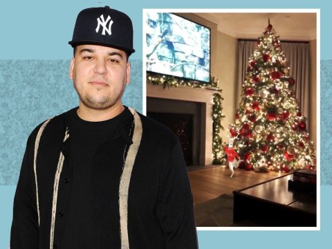 There'll be no presents under Rob Kardashian's Christmas tree this year