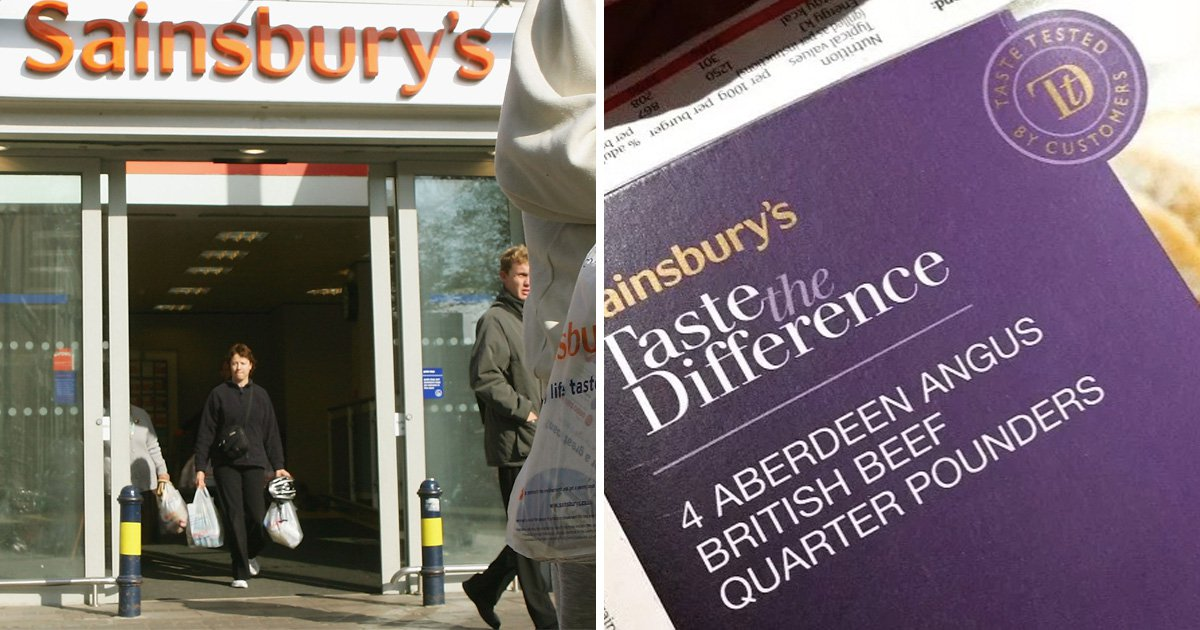 Sainsbury's urgently recalls Taste the Difference burgers over E. coli fears