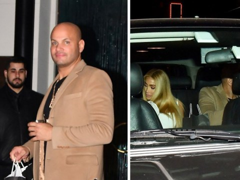 Stephen Belafonte goes on date with reality star days after divorce from Mel B is finalised