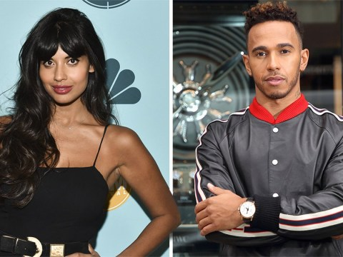Jameela Jamil brands Lewis Hamilton a 'careless t**t' for mocking dress-wearing nephew